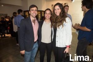 Joaquín Rey, Andrea Jiménez y Pamela Bedoya