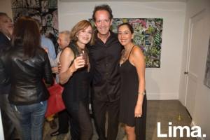 Malika de la Flor, Gonzalo Rodríguez-Larraín y Gabriela Espejo