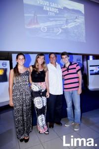 María Belén Bazo, Pilar de Bazo, Fernando Bazo y Santiago Bazo