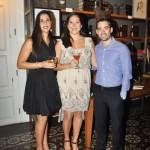 Maria José Cabrera, Marilia Paz Soldán y Gean Antonio Martínez