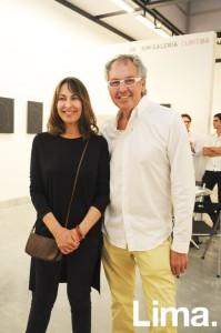 Maria Laura Hernández y Marco Testino