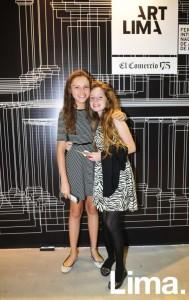 Maria Laura Posada y Alexandra Bates