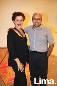 Mariella Agois y José Carlos Mariátegui