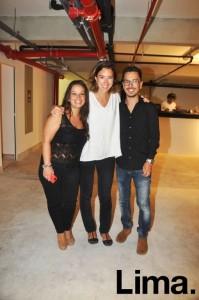 Marinés del Campo , Sophie Medem y José Bernal