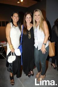 Marissa Soria, Alexandra Morales y Julieta Ulloa
