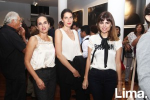 Mairu Palacios, Ana Kecskemethy y Solana Costa