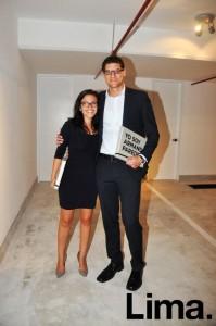 Martha Apaestegui y Rodrigo Flores