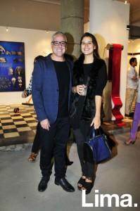 Martín Valderrama y Andrea Hoyos