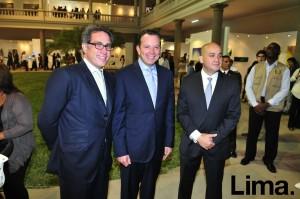 Mauricio Noboa , Jakke Valakivi y Eduardo Roy