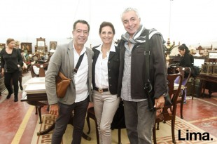 Orri Dajes , Magaly Simon y Eduardo de las Casas