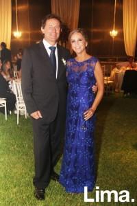 Gino Coppo y Patricia Velasco