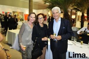 Patricia Jenkins , Marisa Guiulfo y Ricardo Vega Llona