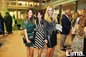 Patricia Ricketts, Jackie Shor y Maria Pía Rosas