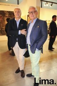 Ramón Sauma y Gabriel Carbajal