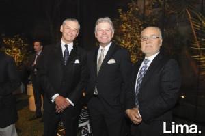 Roberto Ibarra, Juan Carlos Fisher y Fernando Mayanes