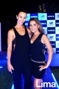 Vania Masías y Pilar Gamarra