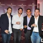 Santiago Devescovi, Stefano Arfinengo, John Smith y Miguel Luján