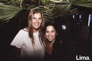 Talía Flores y Maria Luisa Málaga en Tree House, Cieneguilla