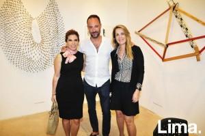 Úrsula Sánchez , Fernando Otero y Flavia Marujo
