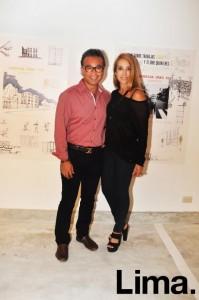 Vince Maeshiro y Claudia D'allorto