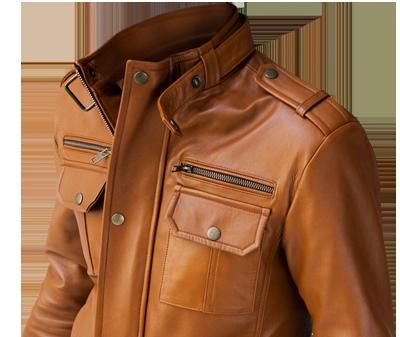 casaca de cuero