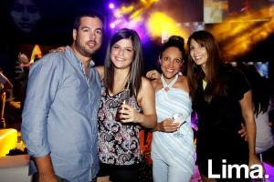 Guillermo Iglesias, Lola Barba, Úrsula Valencia y Mariel Artola