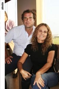 Aldo Piaggo y Denisse Hanza