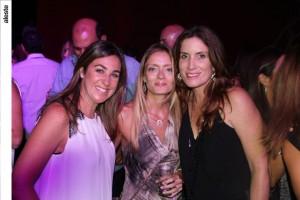 Andrea Berckholts, Beatriz Rosado y Lucienne Belmont