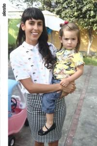 Camila Rodrigo y Lola Marroquín