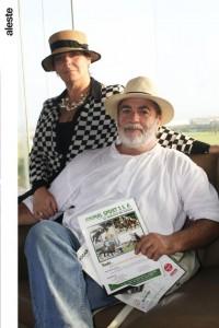 Claudia Guerrero y Jorge Opazo