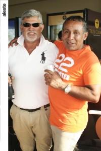 Comandante Hugo Paurinoto y Coronel Percy Tenorio