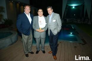 Diego Uceda, Fausto Alvarado y Óscar Liñán.