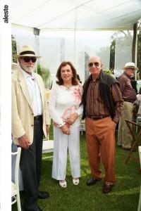 Eduardo Roca,Cecilia Costa y Pepe Lolas
