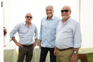 Felix Navarro, José Guislan y Felipe Barreda