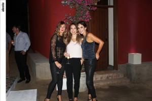 Graciela Castro-Mendivil, Marilú Álvarez Calderón y Paola Fiol