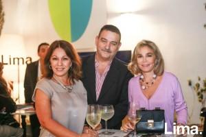 Lily Morey, Eugenio Varela y Rossella Alberti
