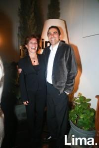 Mocy Muñoz y Carlos Cabieses