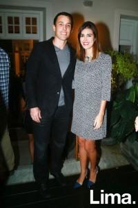 Juan Carlos Tassara y Stephanie Cook