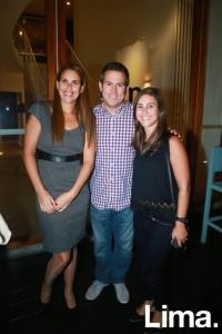 Karen Bernos, Jorge Luis Kisic y Andrea Mayo