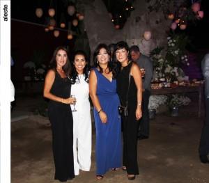Jessica de Botto, Milagros de Herrera, Elizabeth OZ y Patricia Wagner