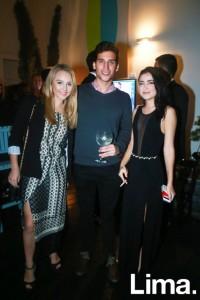 Paula Chirinos, Rodrigo Recavarren y Aldana Darcourt