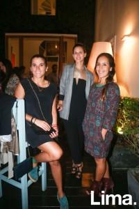 Valerie Nossar, Melanie Ramsey y Ana Rocío Modonese