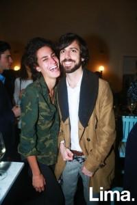 Ginevra Ficari y Lorenzo Ferreyros