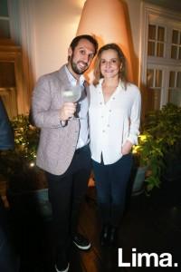 Martín Bedoya y Susana de La Puente