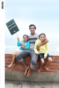 Aitana Gagliardi, Andrés Gagliardi y Triana Gagliardi