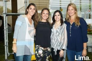 Jessica Pazos, Nova Madueño, Mariana Colareta y Daphne Ljubicic