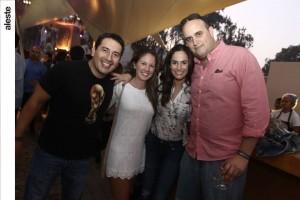 Joe Chamorro, Emilia Parodi, Mariana Rodríguez-Larrín y Cristóbal Delgado