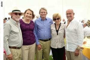 Jose Antonio Puyo, Gracia Puyo, Enrique Canaval, Marisa Canaval y Gastón Barúa.