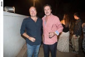 Malcon Ford y Jaime de Azambuja