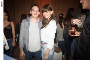 Kevin Pérez y Daniela Pereira